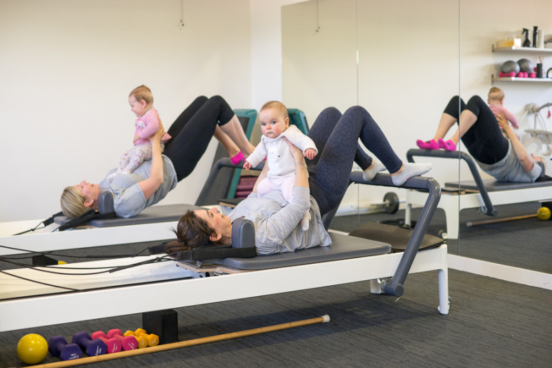 mums baby exercise pilates adelaide