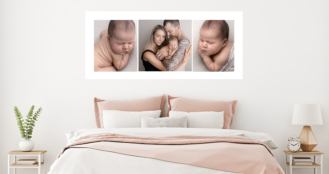 Adelaide newborn baby photographer art work, Melissa Alagich