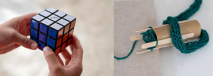 rubiks tomboy activities to keep kids busy
