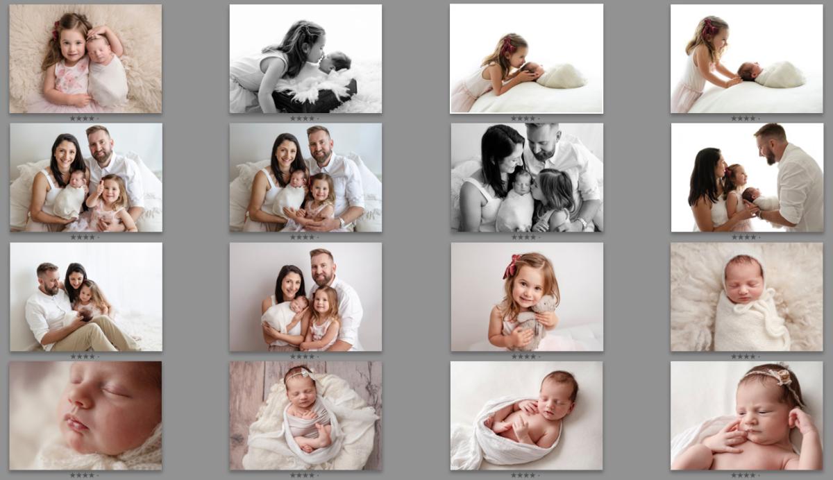 newborn photography image selections Adelaide photographer