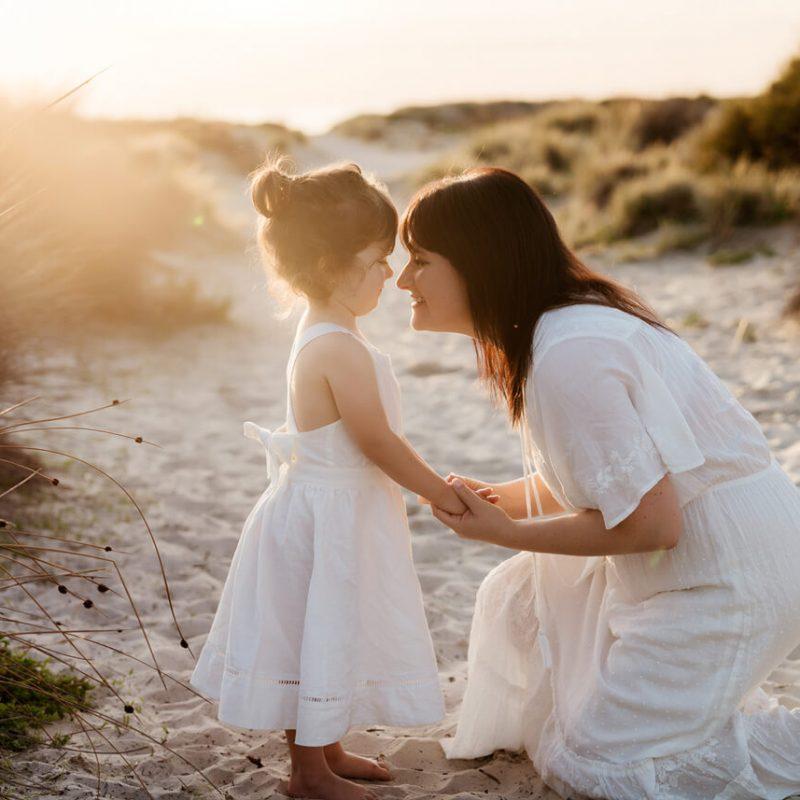 mummy daughter photo